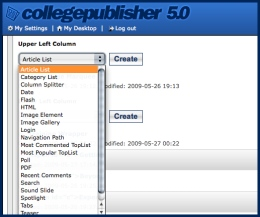 College Publisher 5 Elements